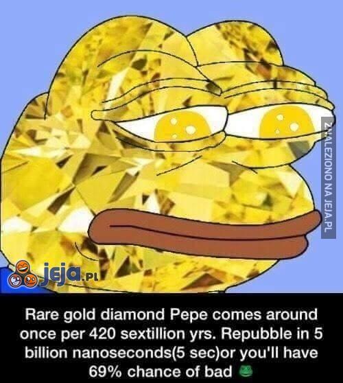 Bardzo rzadki Pepe do Waszej kolekcji
