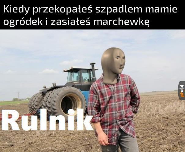 Sam jestem rolnikiem