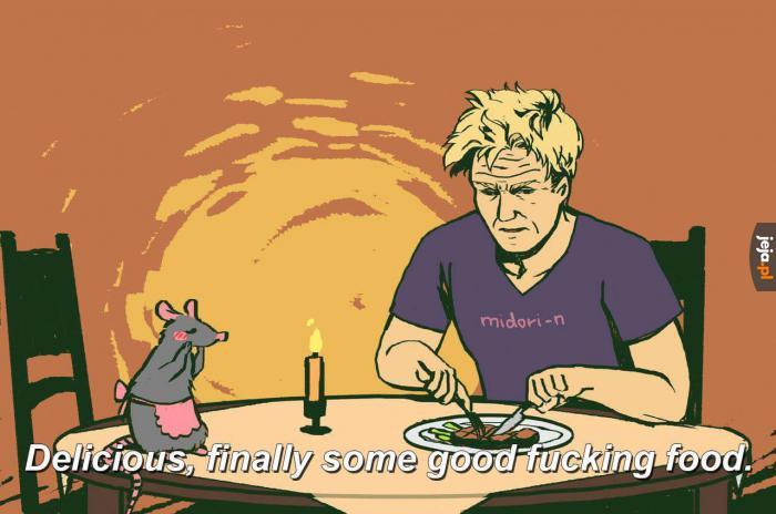 Tylko jeden kucharz zadowoli Gordona