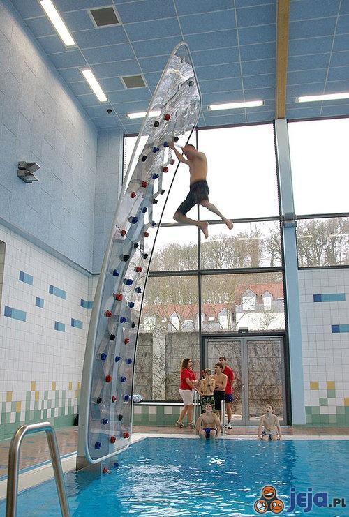 Ścianka na basen