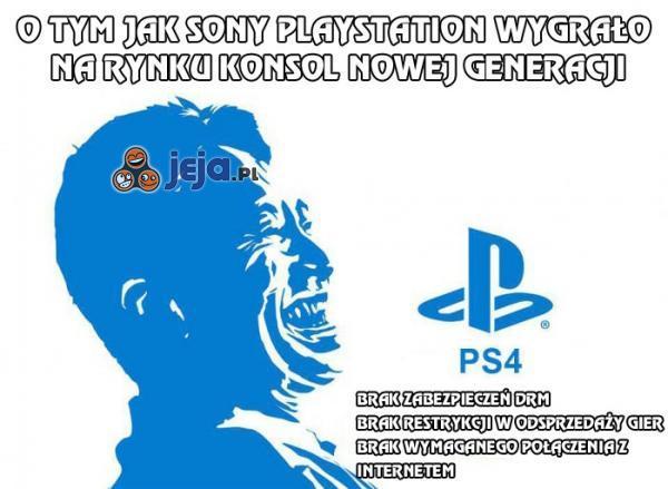 O tym jak Sony PlayStation 4 wygrało z Microsoft XBox One
