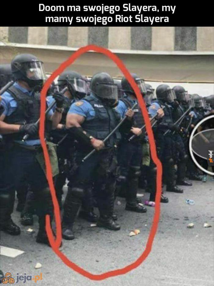 Współczuję protestującym