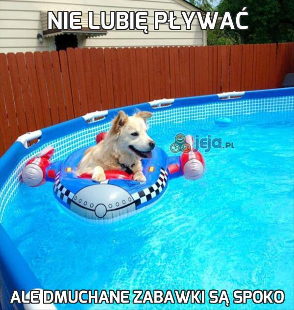 Nie lubię pływać