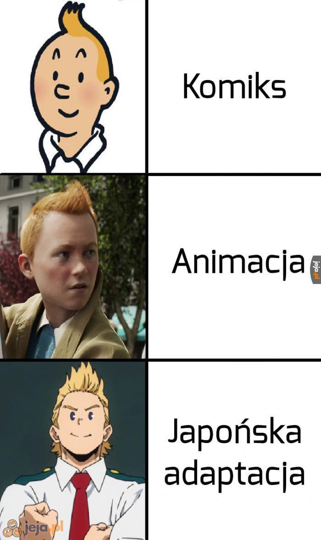 Wyraźnie inspirowali się Tintinem