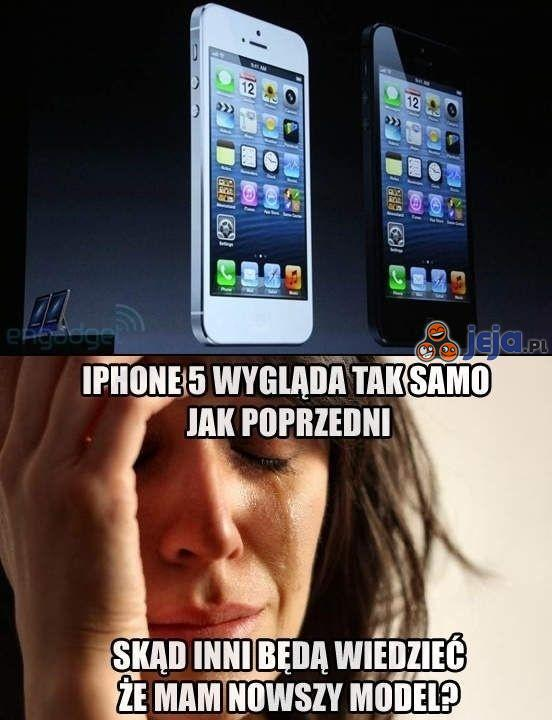 Problem z nowym iPhone'em