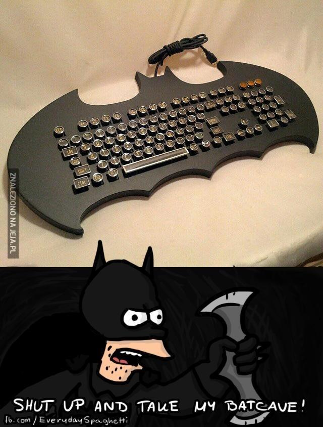 Dawaj mię tę klawiaturę!