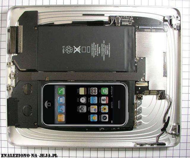 iPad od środka
