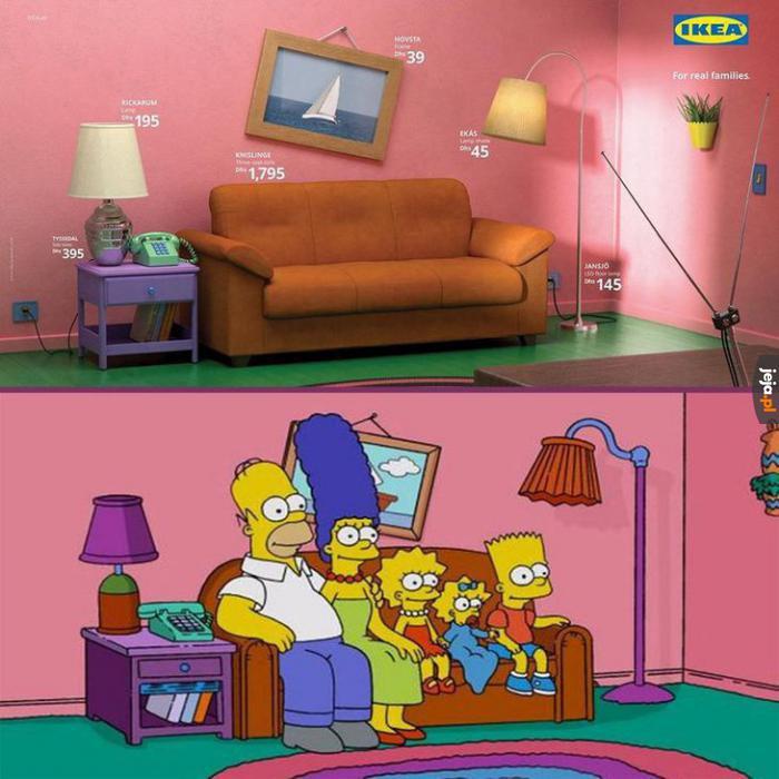 Teraz a Ty możesz mieszkać jak Simpsonowie