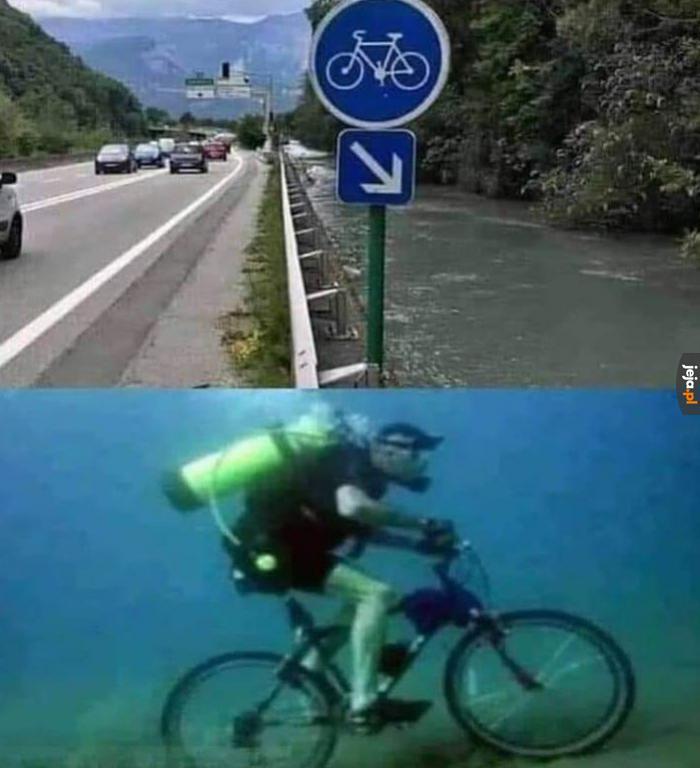 Podwodny kolarz