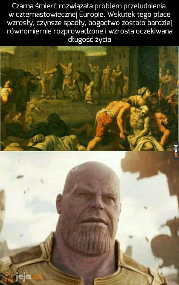 Thanos miał rację