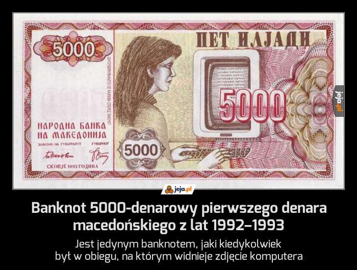 Ciekawostka pieniężna