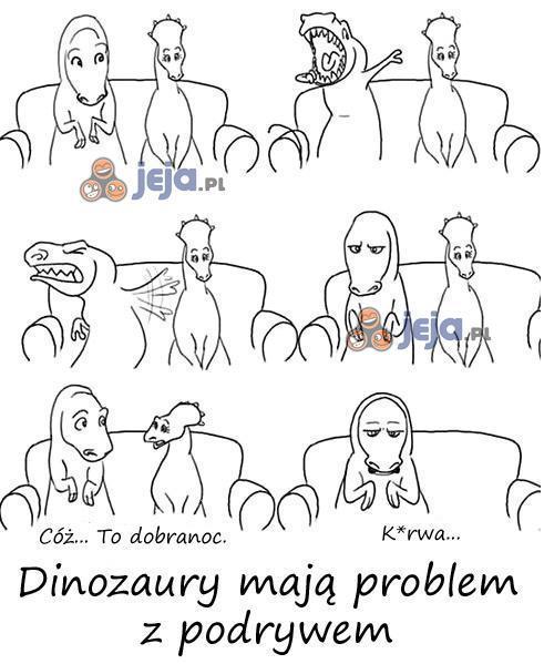 Biedny tyranozaur