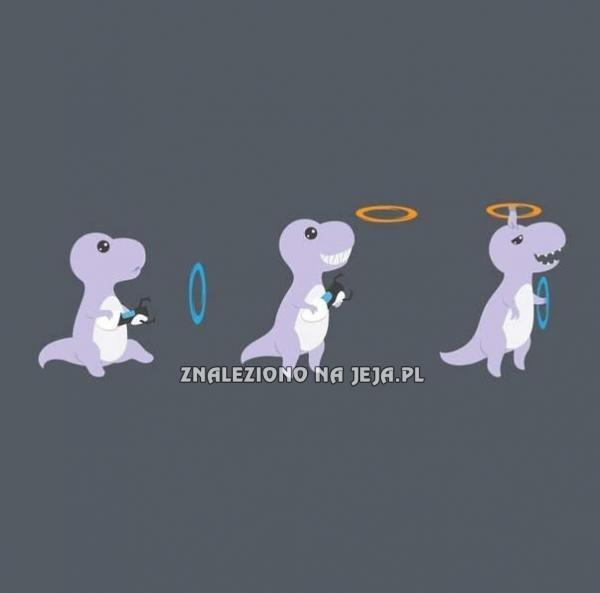 W jaki sposób T-Rexy drapały się po głowach