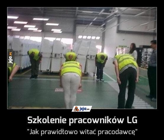 Szkolenie pracowników LG