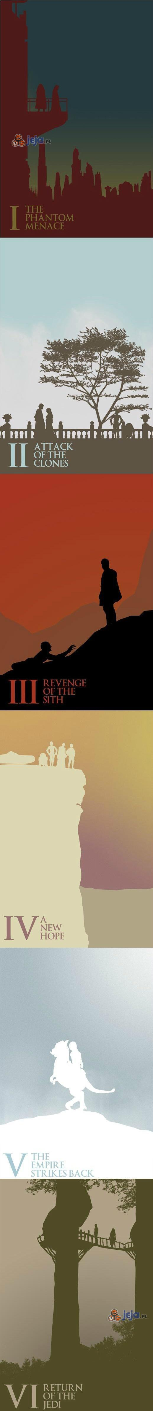 Plakaty Star Wars wykonane przez fana