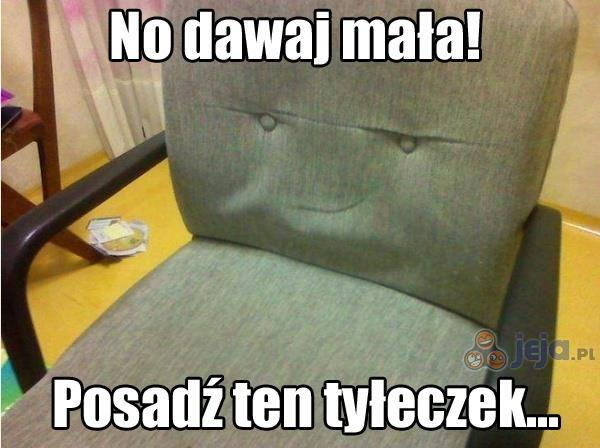 Napalone krzesło