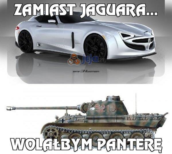 Zamiast Jaguara...