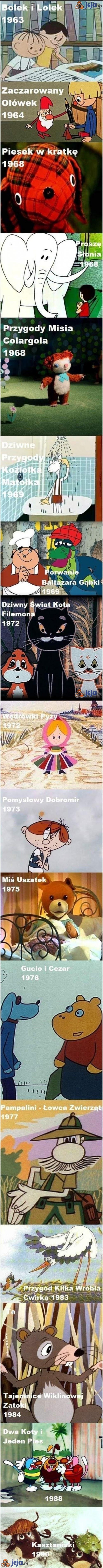 Oldschoolowe kreskówki