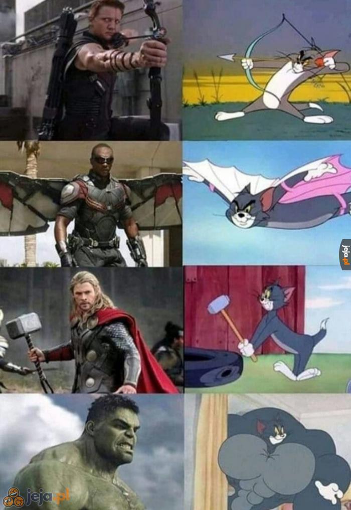 Tom jest wszystkimi superbohaterami jednocześnie