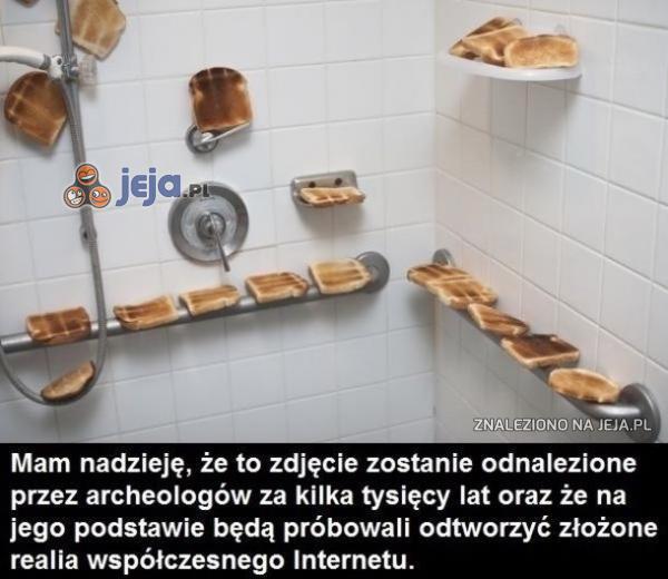 Tosty pod prysznicem