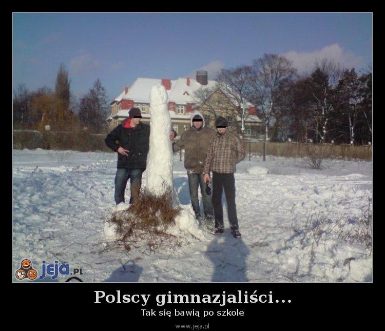 Polscy gimnazjaliści...