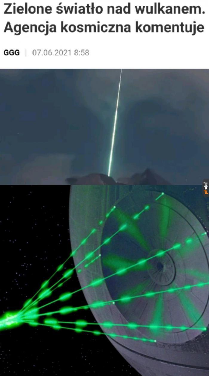 """Spokojnie, to nie jest Gwiazda Śmierci... Zaraz, dlaczego słyszę """"Marsz Imperialny""""?"""