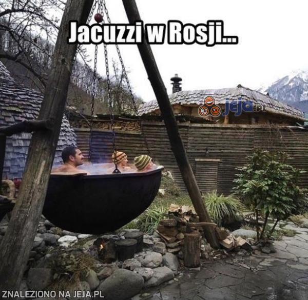 Jacuzzi w Rosji...