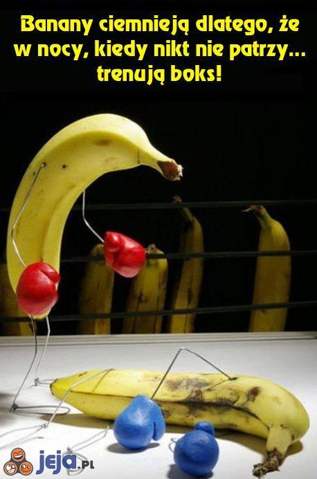 Bananowa ciekawostka
