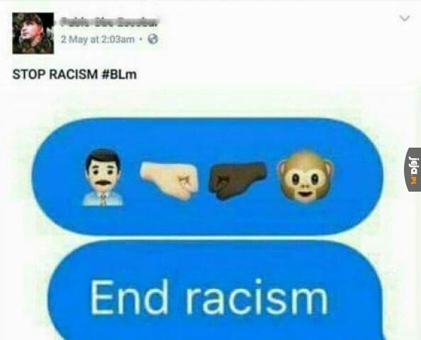 Stop dla rasizmu!