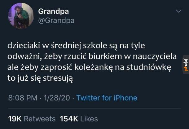Dziadek wie, co mówi