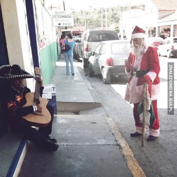 Mikołaje, wszędzie Mikołaje