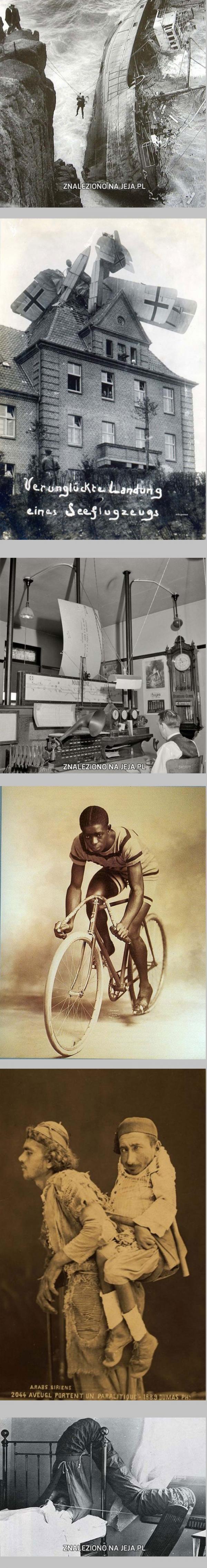 Dziwne zdjęcia z przeszłości