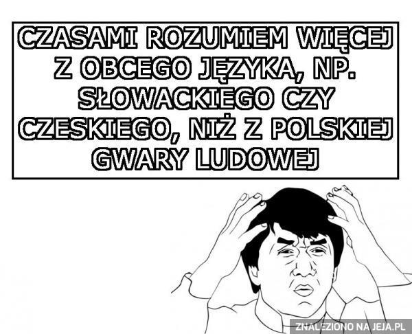 Polski taki zrozumiały