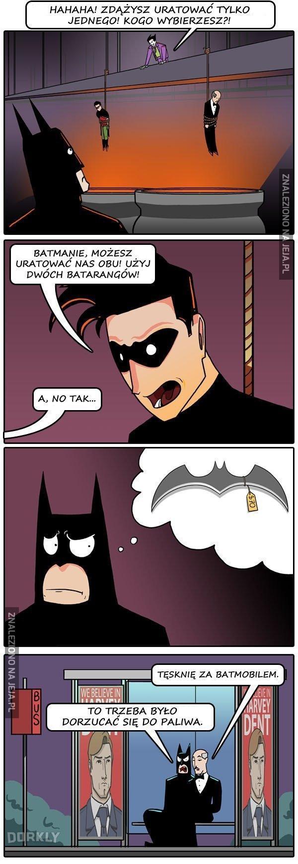 Gdyby Batman był biedny...