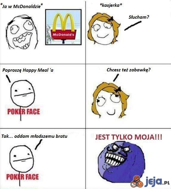 Zabawka z  McDonald