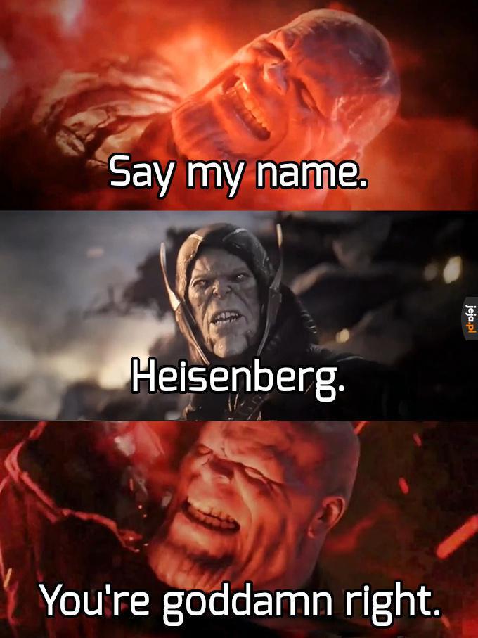 Thanos White, zwany Szalonym Heisenbergiem
