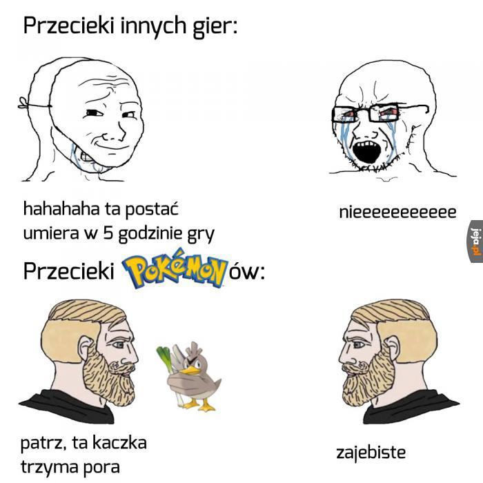 Lubisz grać w Pokemony?