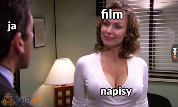 Bardziej interesująca część filmu