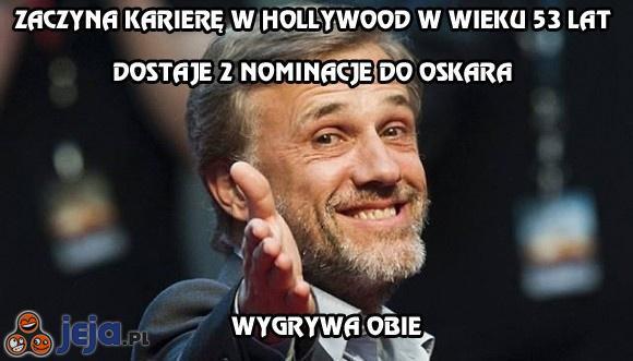 Zasłużył na oba Oskary