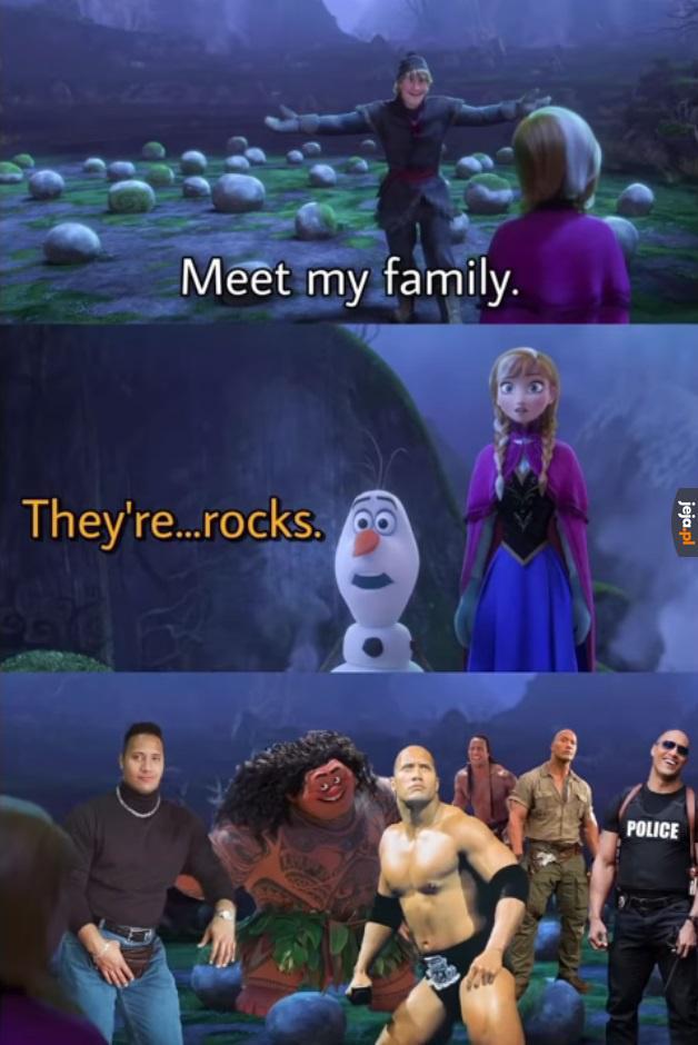 Rodzina kamyczków