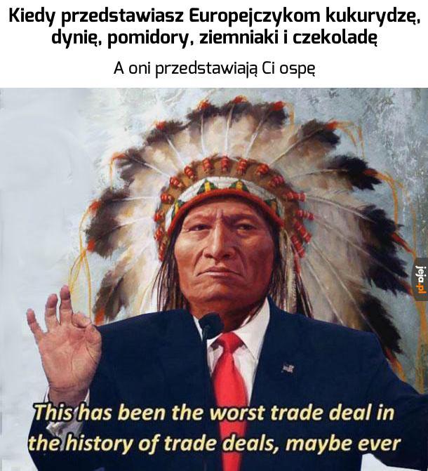 Słaby handel