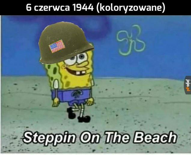 Wypad na plażę z kolegami