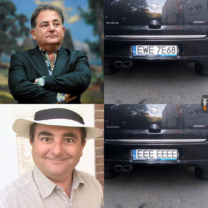 Samochód pana Roberta