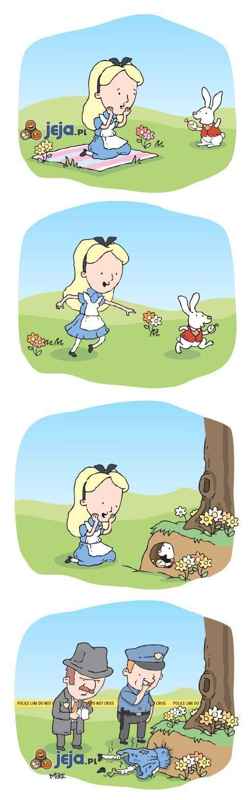 Alicja i królicza nora