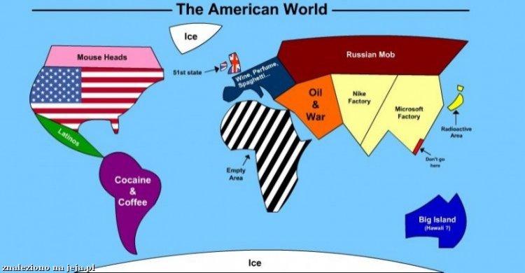 Świat według Amerykanina