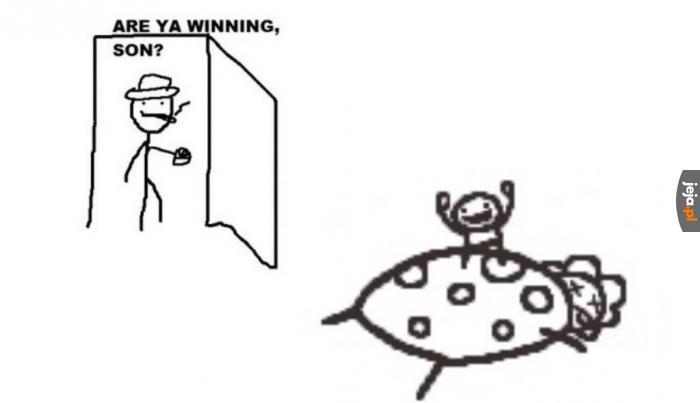 Tak tato, wygrałem