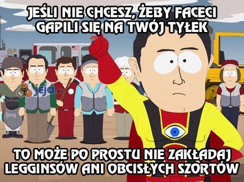 Kapitan Oczywisty z wiosenną poradą dla Pań
