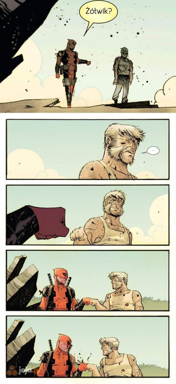 Nie polecam żółwików z Wolverinem