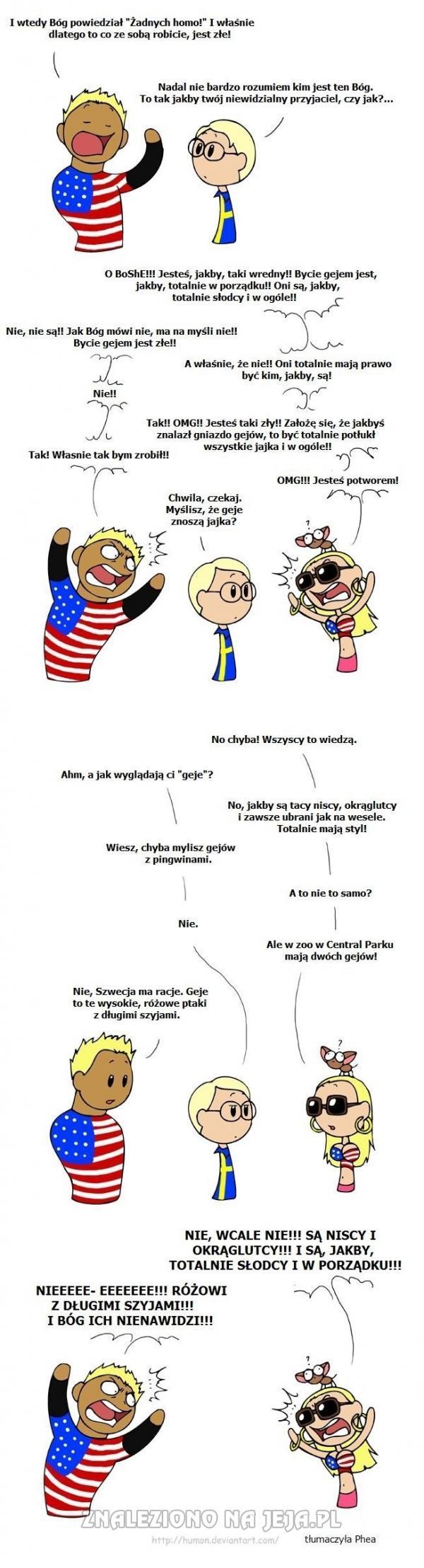 Ameryka homofob