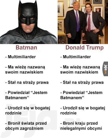 Batman vs Trump
